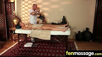 Massage Girl Sucks the Tip for a Tip 26