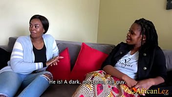 Straight African Teen Seduced By Lesbian Friend