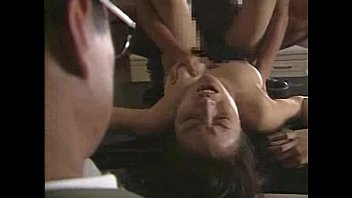 Japanese whore fucked in front of her husband Thumb