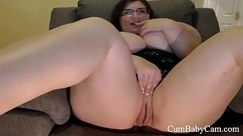 BBW Huge Tits Plays With Pink Pussy - CumBabyCam.com