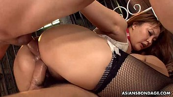 Sexe hardcore Big boobs and ass asian sex slave made to fuck and suck