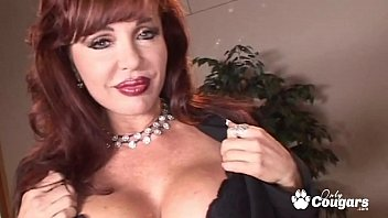 Sexy Cougar Takes A Big Cock In Her Ass - Anal