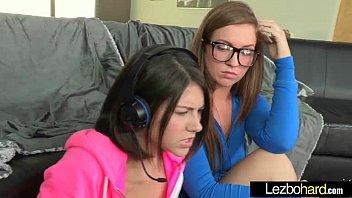 Lesbians Make Love Sex Scene On Tape mov-08