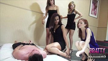 Foot domination gag 5 brat special smothering my loser brother foot femdom