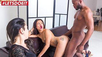 LETSDOEIT - Kinky Pornstar Fucked Hard By Amateur Stud