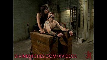Male foot slave porn - Bobbi gives pain