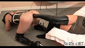 Free femdom movie clips Mistress carmen rivera ties up her bondman indeed hard