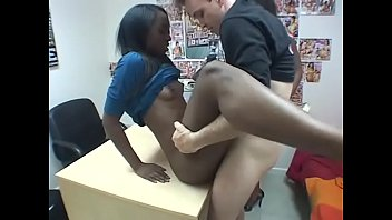 Black sex dreams xxx White stud fucks two sexy black hoes indoors