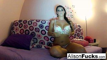 Allison angrim nude Alison masturbates in bed