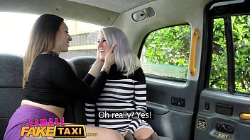 Naked females on car - Female fake taxi busty blonde licks her first pussy
