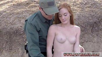 Police officer Border Hopping Redhead Loves Cock