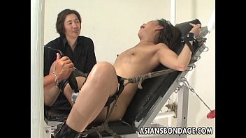 Sex machine vidoe - Bound asian handles sex machines like a trooper