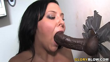 Free glory hole station - Ivy winters sucks huge black dick - gloryhole