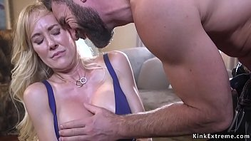 Pregnaunt brandy forced sex Bound huge tits milf licked and fucked