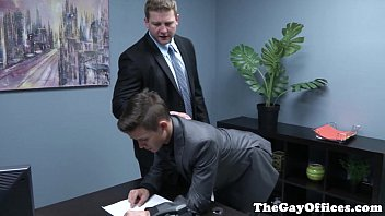 Law suit gay discrimination Gaysex boss spanks and fucks twink assistant