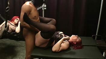 Naked redhead threesome Amateur uk milf threesome with bbc