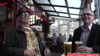 Dutch hooker screwed by old man on a sextrip