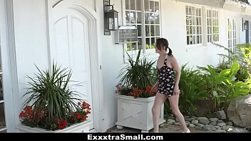 Exxxtrasmall - Petite Neighbor (Alex More) Fucked By Huge Cock