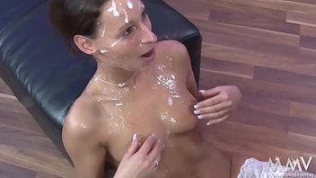 Mary - Bukkake - Facial-Cum-shot