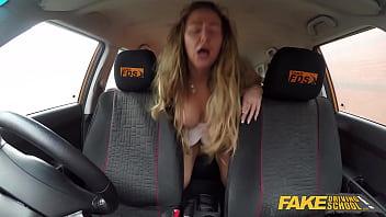 Fake Driving School Rookie instructor fucks Classy MILF pornhub video