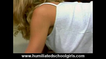 Blonde Skank Gets b. Double Penetration