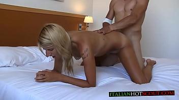 Italian Porn Rambetto Stefanin Con Bellissima Bionda Arrapante Blonde Very Slut