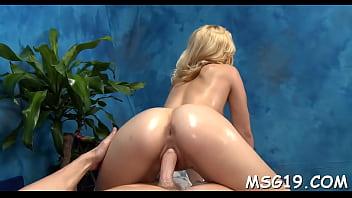 Girl bouncing naked video - Hot massage girl bounces on pecker