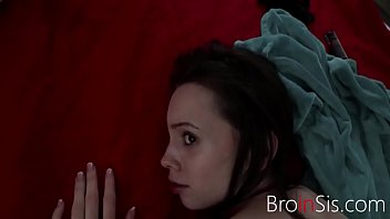 Sleepy SISTER spreads her legs for BROTHER-Aria Haze