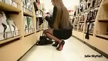 Stocking voyeur Best belgian mon shopping with buttplug heels see pt2 at goddesheelsonline.co.uk