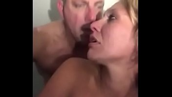 Blonde Wife Squirting During Intense Doggy