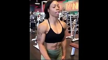 Ebony Milf I met on Snapebony.com Muscles