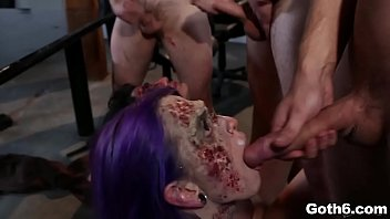 Evil Dead Orgy! Zombies Fucked to Death! Starring Joanna Angel, Tommy Pistol, Danny Wylde, Larkin Love, Arabelle Raphael, Kleio Valentien and Wolf Hudson