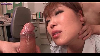 Sensual asian babe getting mouth fucked