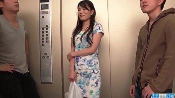 Nana Nakamura acts naughty and sensual in top trio - More at 69avs com