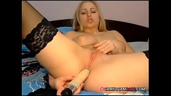 Hotgirl xxx Beautiful stockings blonde toying ass live show xxx