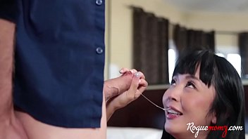 Asian MOM threesome with DAUGHTER and her white BF- Cindy Starfall & Marica Hase