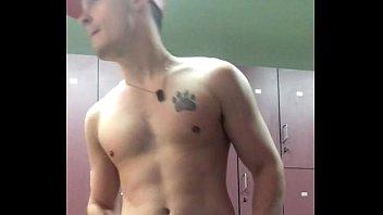 Gay gym mn Novinho na academia