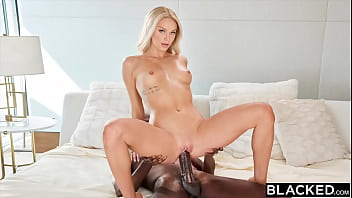 BLACKED Masseuse Emma can't keep her hands off client's BBC