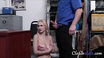 Blonde Busty Hot 18yo Babe With Big Tits Force Fucks Cops- Skylar Vox