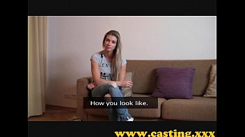 Casting - Athletic babe cums for real