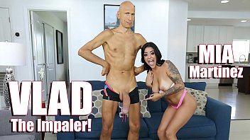 Impaled breasts - Bangbros - young latina mia martinez meets vlad the impaler