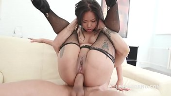 Jureka Del Mar Survives a Savage Double Anal Fuck video