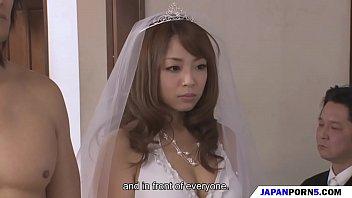 japan av เจ้าสาวน่ารักจัด แขกร่วมงาน พากันมา xxxหีคาชุดงานแต่ง หนุ่มน้อย หนุ่มใหญ่ แย่งกันเย็ด โคตรเงี่ยน