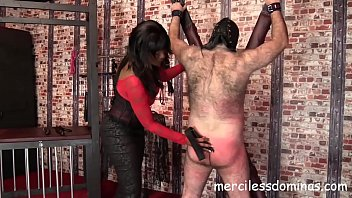 P For Paddle – P For Pain - Mistress Bounty Has no Mercy to her Slave