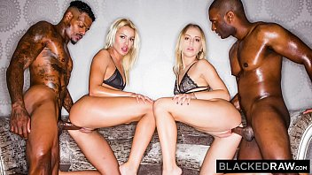 Gus kissing cocks Blackedraw two blondes fuck two dominant bbcs after a night at the club