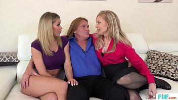 FILF - Jessa Rhodes Stepparents Evan Stone And Nina Hartley Invading Her For The Weekend