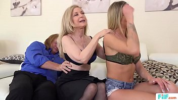 FILF  - Jessa Rhodes' stepparents Evan Stone And Nina Hartley invading her for the weekend image