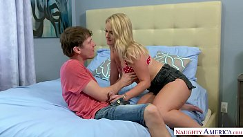 Lisey Sweet Bangs Her Friends Brother for Naughty America