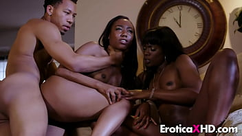 Ana Foxxx and Chanell Heart perfect threesome