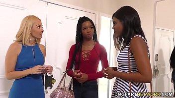 Aaliyah Love Having Hot Interracial Lesbian Sex